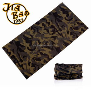 Camo Headear Bandana, Camo sports Scarf , Camo neck warmer