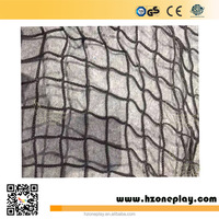 Black Protective Knotless Quality Playground Safety Nylon Net and Nylon Rope for Children'sd Park