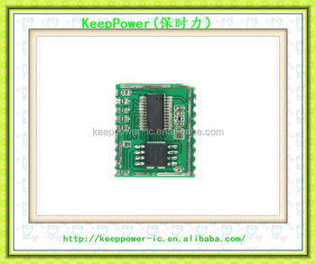 Voice recognition chip module WTK6900B01 intelligent switch light control  ic non-specific vocal integrated circuit, View WTK6900B01, Original Product
