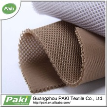100D*100D Encrypted 3d air spacer mesh fabric polyester for sport shoes material