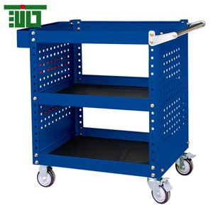 TJG Red car-care shop moving tool cart/chest