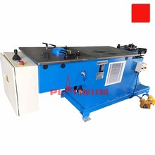 HVAC steel round duct hydralic elbow forming machine for ventilation