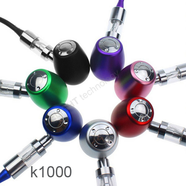 2014 New Products epipe Huge Vapor Kamry K1000 e pipe with 7 option colors cigarette e pipe 601