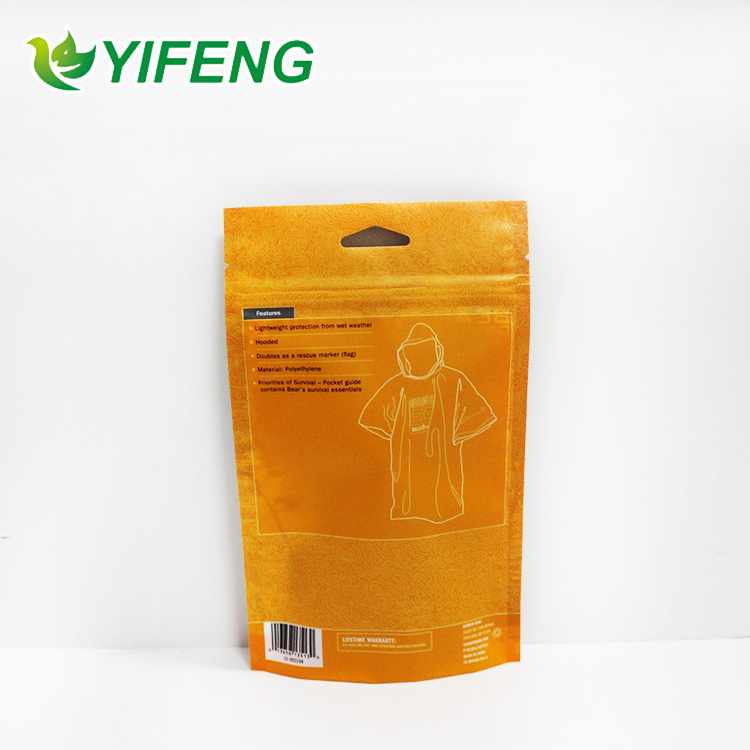 Clothing Plastic Apparel Bags Customized Fashion Packaging Bag For Underwear With Resealable Zipper