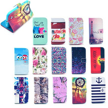 Colorful images tpu cover for samsung galaxy s4 mini with stand mix color
