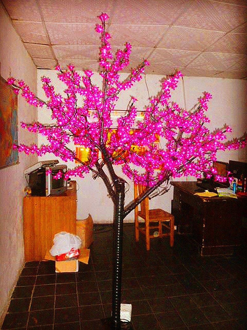 Buy Artificial Flowers Sakura Cherry Blossom Christmas Wedding ...