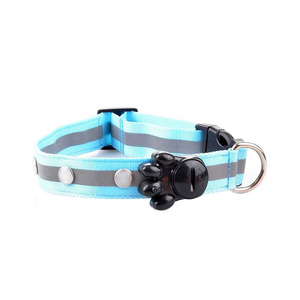 china Waterproof solar charging dog collar USB charging led dog collar for pet supplier