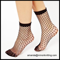 High Quality Amazon Ebay Hot Selling Wholesale Fashion Stylish Sexy Tube Women's Ladies' Teen Girls' Fishnet Mesh Socks
