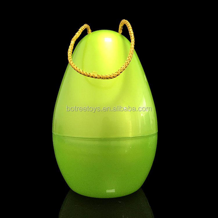 Wholesale 7.7 inch Container Surprise Egg Plastic Toys for Gifts Packaging