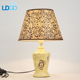 Langde Good Animal Base Antique Chandelier Crystal Arabic Bamboo Bar Banker Table Lamp Glass