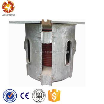 scrap steel aluminum cans melting furnace making aluminum ingots