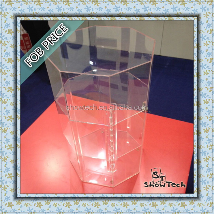 hot factory product acrylic display customized design 3 layer acrylic jersey display cases