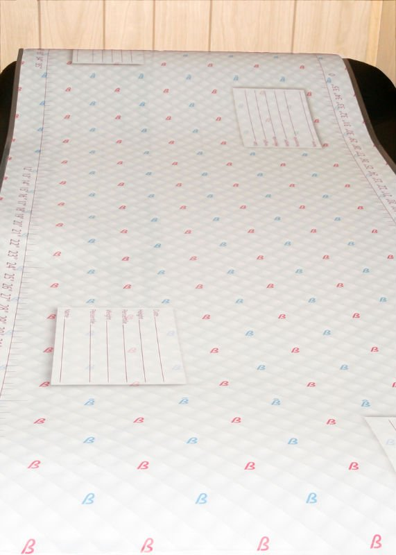 Measure Me Baby Exam Table Paper