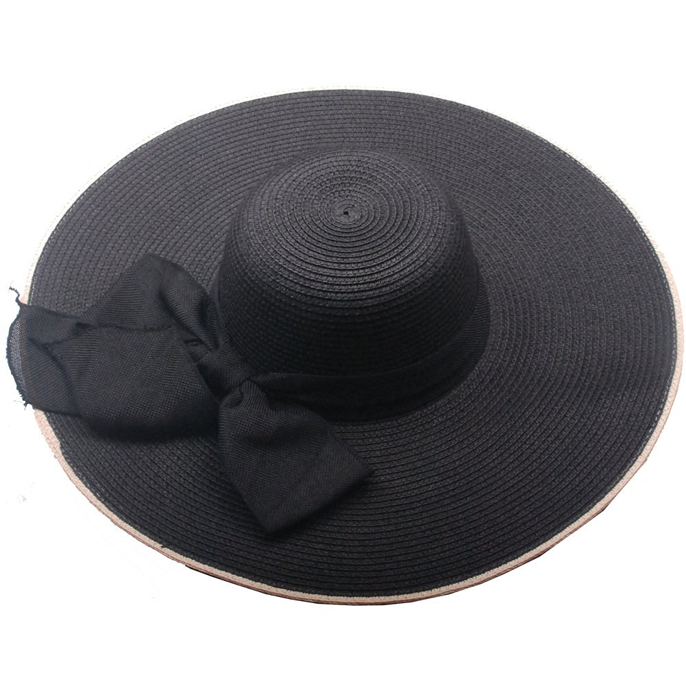 bdf1c8dab99eb Get Quotations · Ladies Wide Brim Outdoor Large Brimmed Sun Hats Straw Hats  By Green Burgeon