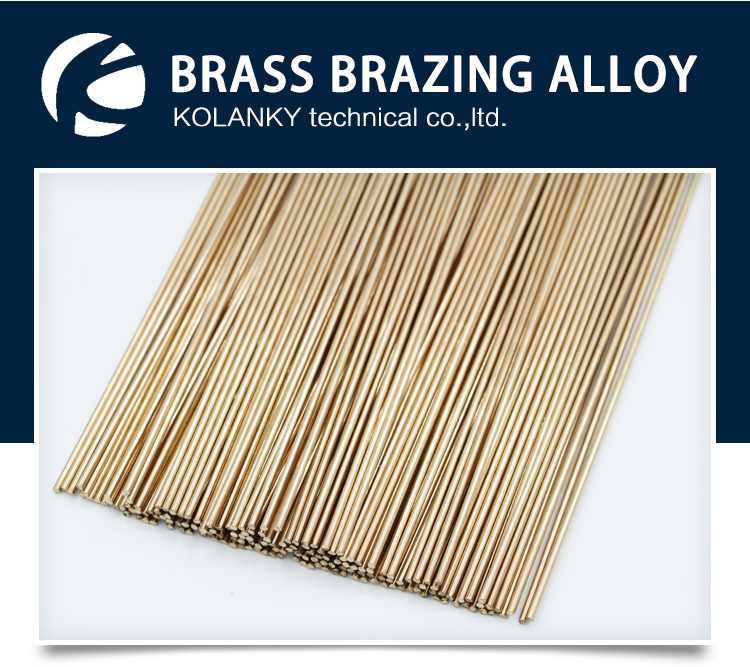 Air conditioning welding material brass welding rod