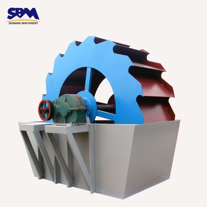 SBM Large Capacity and Super Durable Spiral Sand Washer with Low Price