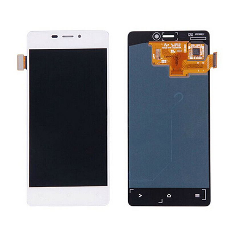 100% Original New LCD For Fly IQ4516 LCD Screen with Touch Display Digitizer Assembly Black&White Color Free Shipping