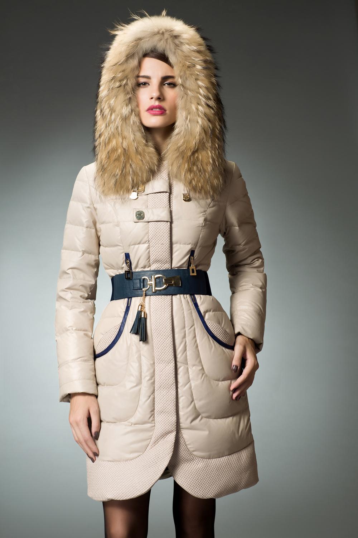 Ladies Fur Trimmed Coats Han Coats