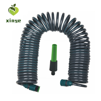 High Quality 15m EVA/PU Coiled Garden Hose