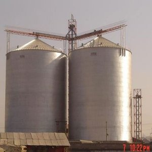 Hebei Kingoal Machinery products 500T silo tank/grain storage silo