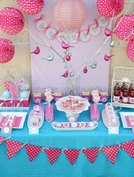 Pink and Turquoise Decor Ideas Planning Styling Dessert Table Honeycomb Balls Lanterns Tissue Hanging Paper Fans & Pink And Turquoise Decor Ideas Planning Styling Dessert Table ...