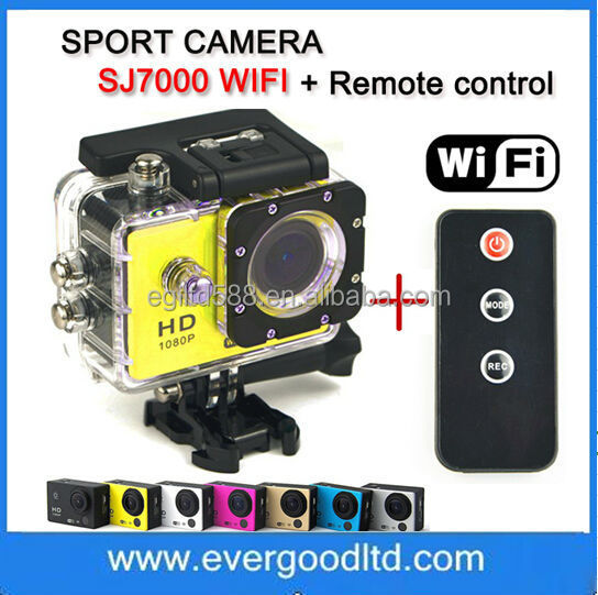 SJ4000 Style Newest Sports DV Full HD 1080P 1.5 inch IR Remote Control SJ7000 Camera Wifi Action Camera Car DVR