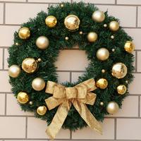 Xmas decoration ornaments plastic christmas floral wreaths for sale