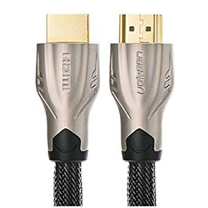Pink Lizard Ugreen 1m/3ft High Speed HDMI to HdMI Gold Cable HD 1080P 3D for DVD Projector TV