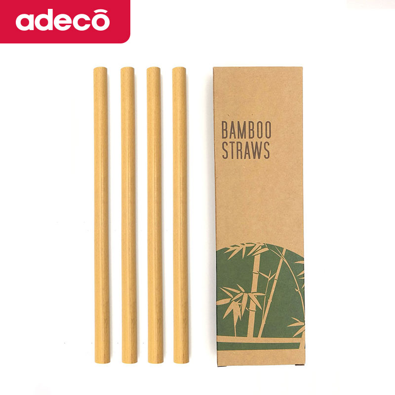 Eco Friendly Bubble 차 Bamboo 빨 Reusable, 뱀부 빨