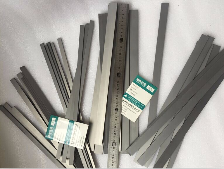 YG6 grade tungsten carbide strip 320*12*6mm for ceramic tile industry