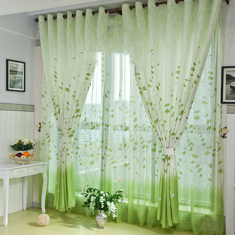 popular country style curtains living room buy cheap country style curtains living room lots. Black Bedroom Furniture Sets. Home Design Ideas