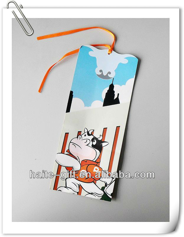 Customized 3d bookmarks