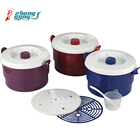 Home cookware pp pot plastic microwave rice cooker
