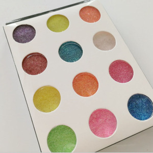 Hottest PET Glitter Powder 12pcs Nail Art Glitter Powder Set
