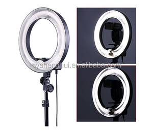 "14"" Dimmable Ring Light 40W Fluorescent Photo Video Studio Portrait Light 5500K with carry Bag"
