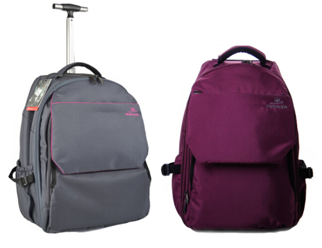 Buy NEW women and man Multi-function travel bags with wheels backpack  suitcase trolley rolling nylon Waterproof canvas luggage bag in Cheap Price  on ... 017167eace