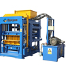 equipment from china for south africa QT4-15 ful automatic stock bricks paving blocks making machine