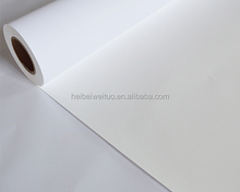 Top coated waterproof digital inkjet printing PP synthetic paper