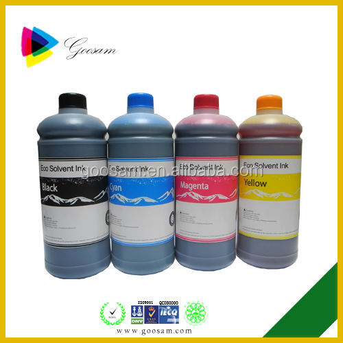 Multifunction eco solvent ink for Dazzle jet 3202W printer
