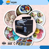 Digital 3D Cookies Chocolate Printer / Edible Food Printing Machine