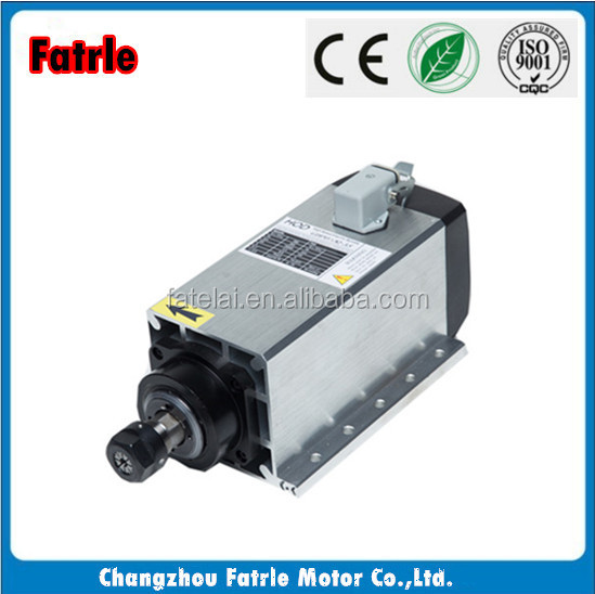4.5kw spindle motor cnc router air cooled spindle 18000rpm Collect ER32 for cnc couter spindle bt40