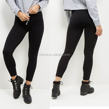 1f14662f084e8 China Wholesale OEM Clothing Black Fleece Lined Leggings Yoga Pants Leggings  Womens Fitness Leggings High Quality