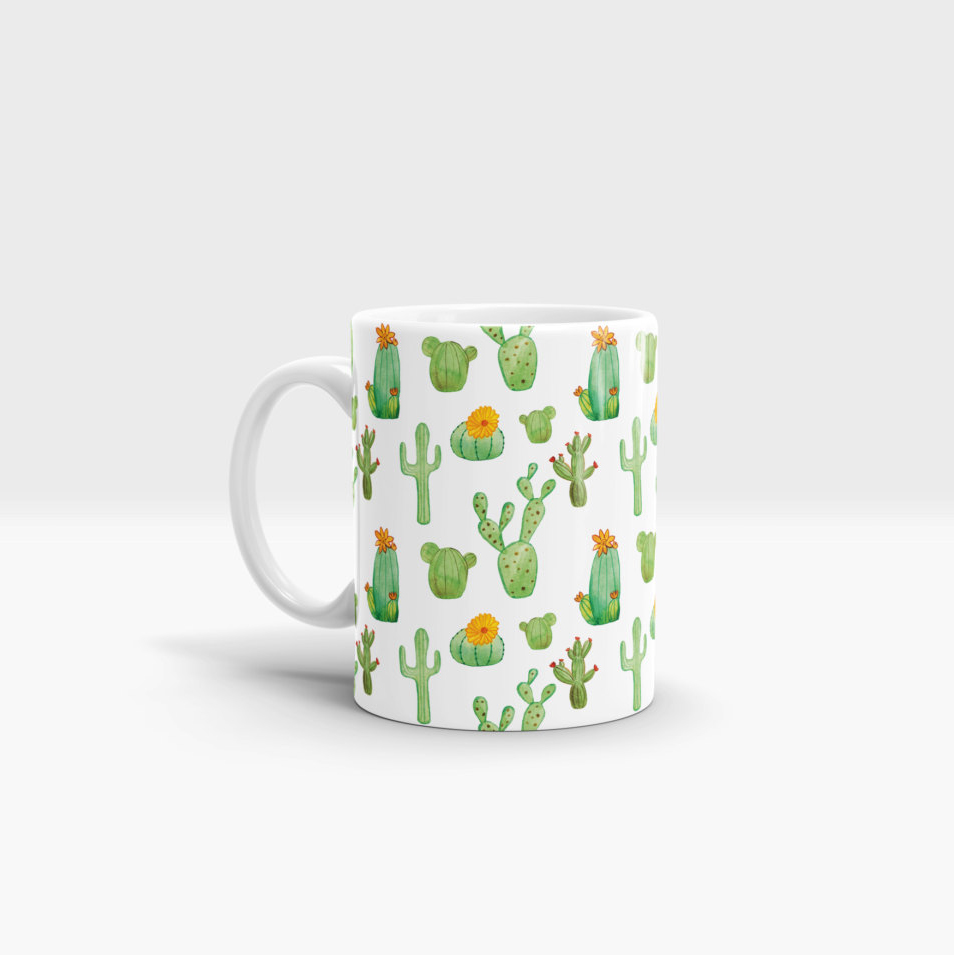 colorful sublimation logo printing personalise print Sculpted Ceramic  custom shape white coffee mug