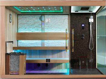 Dry Steam Sauna Suit Hammam Combination FS 1388
