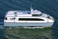 100 Persons Passenger Catamaran Steel Ferry For Sale Tour Boat Whale Watch