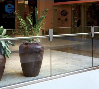 Shopping Mall Porch Aluminum U Channel Glass Railing - Buy Aluminum U  Channel Glass Railing,U Channel Glass Railing,Porch Glass Railing Product  on