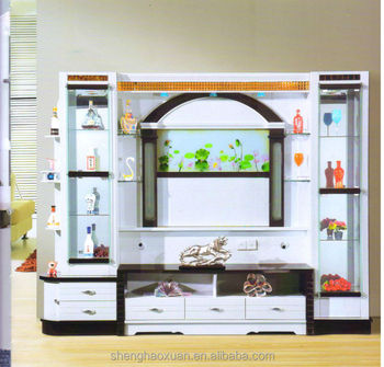 Modern Design Living Room Furniture Lcd Tv Wall Units Wall Panel With Lcd Unit Buy Wall Panel