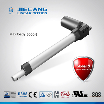 Jiecang JC35DFS 6000N quiet medical bed manual linear actuator