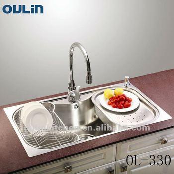 OULIN Sink Tank Single Stainless Steel Sink (OL 330)