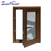 Low U-factor AS2047 aluminum clad wood window with Lisec glass